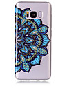 For Case Cover IMD Transparent Pattern Back Cover Case Mandala Soft TPU for Samsung Galaxy S8 Plus S8 S7 edge S7 S6 edge S6 S5