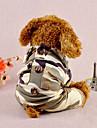 كلب حللا ملابس الكلاب كاجوال/يومي هندسي تمويه اللون كوستيوم للحيوانات الأليفة