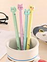gel Στυλό Στυλό Στιλό Ζελέ Στυλό, Πλαστική ύλη Μπλε μελάνι Χρώματα Για Σχολικές προμήθειες Προμήθειες γραφείου Πακέτο 12 pcs