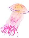 Decoration d\'aquarium Meduse Lumineux Silicone