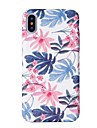 Capinha Para Apple iPhone X / iPhone 8 Estampada Capa traseira Arvore Rigida PC para iPhone XS / iPhone XR / iPhone XS Max