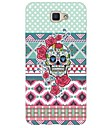For Case Cover Rhinestone Pattern Back Cover Case Skull Soft TPU for Samsung Galaxy J7 (2016) J7 (2017) J7 V J7 Perx J7 J5 (2016) J5