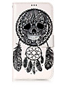 Case For Motorola Card Holder Wallet with Stand Flip Pattern Full Body Cases Skull Dream Catcher Hard PU Leather for Moto G5 Plus Moto G5
