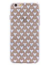 Case For iPhone X iPhone 8 Pattern Back Cover Heart Glitter Shine Soft TPU for iPhone X iPhone 8 Plus iPhone 8 iPhone 7 Plus iPhone 7