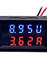 DIY Practical Dual 0.28 inch 3 Digit Red Blue LED Display Voltage Current Meter (DC 0 - 100V / 50A)