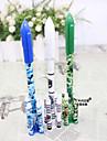 Гелевая ручка Ручка Гелевые ручки Ручка, пластик Синий Цвета чернил For Школьные принадлежности Офисные принадлежности В упаковке 12