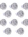 3W GU10 LED Spotlight 3LEDs SMD 3030 200-300lm Warm White Cold White 2800-3200/6000-6500 AC85-265V 10pcs