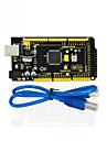 1pcs keyestudio mega 2560 r3 1pcs kabel usb do arduino mega 2560 r3 / avr