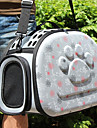 Cat Dog Carrier & Travel Backpack Pet Carrier Breathable Love Blushing Pink Gray