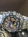 Men\'s Quartz Wrist Watch Fashion Watch Japanese Metal Band Cool Silver