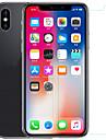 Protecteur d\'ecran Apple pour iPhone X PET Verre Trempe 2 pieces Ecran de Protection Avant & Arriere Antireflets Anti-Traces de Doigts