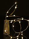 BRELONG® 0.5m Fili luminosi 5 LED LED Dip Bianco caldo / Bianco / Blu Impermeabile 1pc