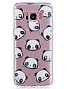 Coque Pour Note 8 Ultrafine Transparente Motif Coque Arriere Carreau vernise Panda Flexible TPU pour Note 8 Note 5 Edge Note 5 Note 4