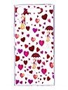 Case For Sony Xperia XZ1 Xperia XA1 Transparent Pattern Back Cover Heart Sexy Lady Soft TPU for Sony Xperia XZ1 Sony Xperia X Sony Xperia
