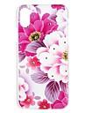 Coque Pour Apple iPhone X iPhone 8 iPhone 8 Plus iPhone 6 iPhone 6 Plus iPhone 7 Plus iPhone 7 Strass Motif Relief Coque Fleur Dur PC pour