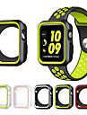 For Apple Watch 3 Series 1 2 38mm 42mm Scratch-resistant Flexible Case Slim Lightweight Protective Bumper Cover Add Strap Band
