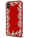 Кейс для Назначение Apple iPhone X iPhone 8 Plus С узором Задняя крышка Цветы Мягкий TPU для iPhone X iPhone 8 Pluss iPhone 8 iPhone 7