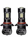 2pcs Ampoules electriques 21W SMD 3030 21 Feu Antibrouillard For Hyundai Elantra Toutes les Annees