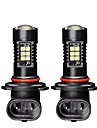 2pcs Lampadas 21W SMD 3030 21 Luz Anti Neblina For Hyundai Elantra Todos os Anos
