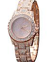 Жен. Модные часы Наручные часы Повседневные часы Часы со стразами Кварцевый сплав Группа С подвесками Cool Повседневная Креатив Люкс