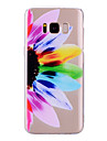 Case For Samsung Galaxy S8 Plus S8 IMD Pattern Back Cover Transparent Flower Soft TPU for S8 Plus S8 S7 edge S7 S6 edge S6 S5