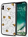Coque Pour Apple iPhone X / iPhone 8 Plus Motif Coque Animal Flexible TPU pour iPhone X / iPhone 8 Plus / iPhone 8