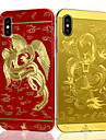 For iPhone 7 7 Plus Plating Embossed Pattern Case Back Cover Case Dragon Hard Metal iPhone 6s 6 Plus