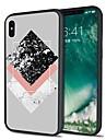 Кейс для Назначение Apple iPhone X iPhone 8 Plus С узором Кейс на заднюю панель Мрамор Мягкий ТПУ для iPhone X iPhone 8 Pluss iPhone 8