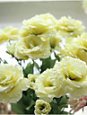 Artificial Flowers 1 Branch Vintage Roses Tabletop Flower