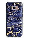 Etui Käyttötarkoitus Samsung Galaxy S8 Plus / S8 Kuvio Takakuori Marble Pehmeä TPU varten S8 Plus / S8 / S7 edge