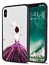 Coque Pour Apple iPhone X iPhone 8 Plus Motif Coque Arriere Femme Sexy Flexible TPU pour iPhone X iPhone 8 Plus iPhone 8 iPhone 7 Plus