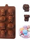 Cortadores de Massa para Candy para biscoito para bolo para Chocolate Biscoito silica Gel Faca Voce Mesmo Dia dos namorados Aniversario