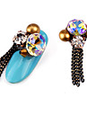 2 Stylish Fashion Wedding Nail Jewelry High Quality Nail Art Design Daily