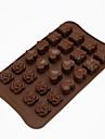 쿠키 커터 장미 하트 사탕을위한 쿠키에 대한 케이크에 대한 초콜릿에 대한 케이크 실리카 젤 DIY 추수감사절 발렌타인 데이 생일 베이킹 도구