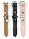 Pulseiras de Relogio para Apple Watch Series 3 / 2 / 1 Apple Fecho Moderno Couro Tira de Pulso
