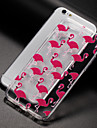 Case For Apple iPhone X iPhone 8 Transparent Pattern Back Cover Flamingo Soft TPU for iPhone X iPhone 8 Plus iPhone 8 iPhone 7 Plus