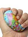 LT.Squishies Earth Globe Planet World Map Bouncy Ball / Squeeze Toy / Sensory Toy Globe Foam 1pcs Fashion Unisex Gift