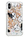 Coque Pour Apple iPhone X iPhone 8 Antichoc Liquide Motif Coque Chien Flexible TPU pour iPhone X iPhone 8 Plus iPhone 8 iPhone 7 Plus