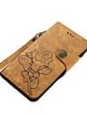 Case For Nokia Nokia 6 Nokia 5 Card Holder Wallet with Stand Flip Magnetic Pattern Full Body Cases Flower Hard PU Leather for Nokia 6