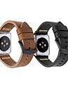Bracelet de Montre  pour Apple Watch Series 3 / 2 / 1 Apple Boucle Classique Vrai Cuir Sangle de Poignet