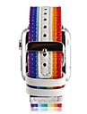 Ремешок для часов для Apple Watch Series 3 / 2 / 1 Apple Миланский ремешок Кожа Нейлон Повязка на запястье