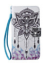 Case For Samsung Galaxy S7 edge S7 Card Holder Wallet Rhinestone with Stand Pattern Full Body Cases Word / Phrase Dream Catcher Owl Hard