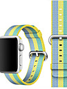 시계 밴드 용 Apple Watch Series 3 / 2 / 1 Apple 스포츠 밴드 나일론 손목 스트랩