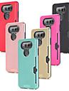 Coque Pour LG V20 Porte Carte Antichoc Coque Couleur unie Dur PC pour LG V20 LG V10
