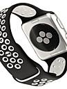 시계 밴드 용 Apple Watch Series 3 / 2 / 1 Apple 모던 버클 실리콘 손목 스트랩