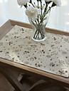 Graphics Linen/Cotton Blend Square Placemat Table Decorations