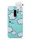 ケース 用途 Samsung Galaxy S9 Plus / S9 耐衝撃 / パターン / DIY バックカバー カートゥン / 3Dカトゥーン ソフト TPU のために S9 / S9 Plus / S8 Plus