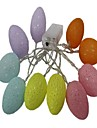 1.5m String Lights 10 LEDs Warm White Decorative AA Batteries Powered 1pc