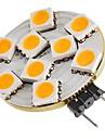 SENCART 1pc 1.5W 270lm G4 Luminarias de LED  Duplo-Pin T 9 Contas LED SMD 5050 Decorativa Branco Quente 12V