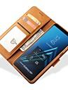 fodral Till Samsung Galaxy A8 Plus 2018 / A7 (2018) Plånbok / Korthållare Fodral Enfärgad Hårt PU läder för A5(2018) / A7(2018) / A8 2018